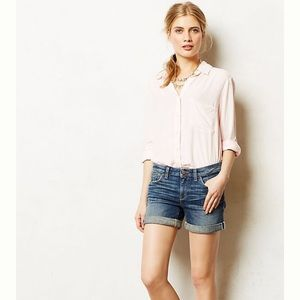 Pilcro Stet Roll-Up Shorts Size 28